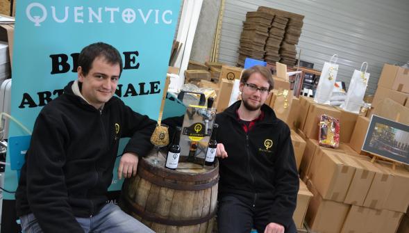 La bière Quentovic sur France 3 côte d'opale