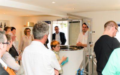 Inauguration de la brasserie artisanale