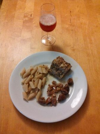 Rôti de porc à la bière Ambrée et aux oignons