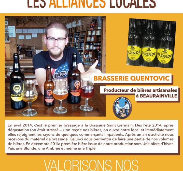 bière leclerc Alliance locale