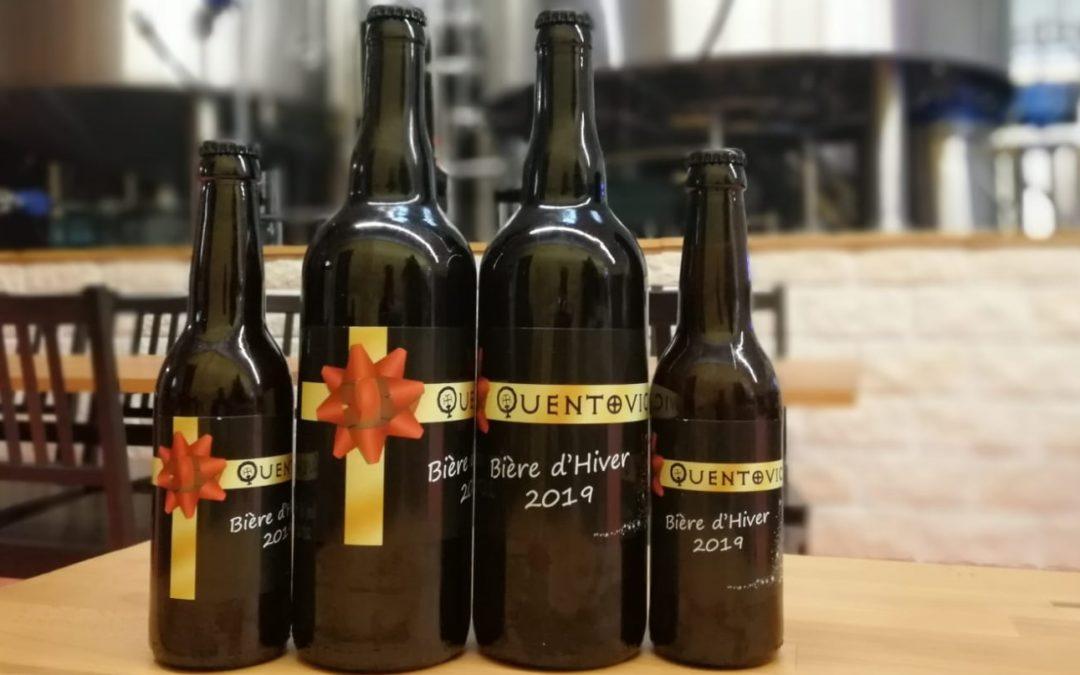 Lancement de la bière d'Hiver
